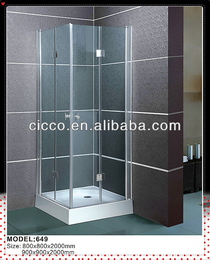 High Quality ! Indoor Tub Customized Shower/Free Standing Shower Enclosure
