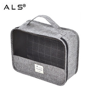 Travel Packing Organizer Bag Mesh Organizer Cubes For Washing Clothes Underwear Storage, Luggage Inner Bag in Bag