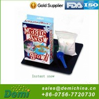 Novelty fashion artificial snow american christmas decorations