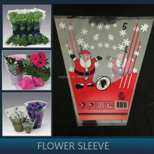Custom Printed flower carrier bag Flower Sleeve