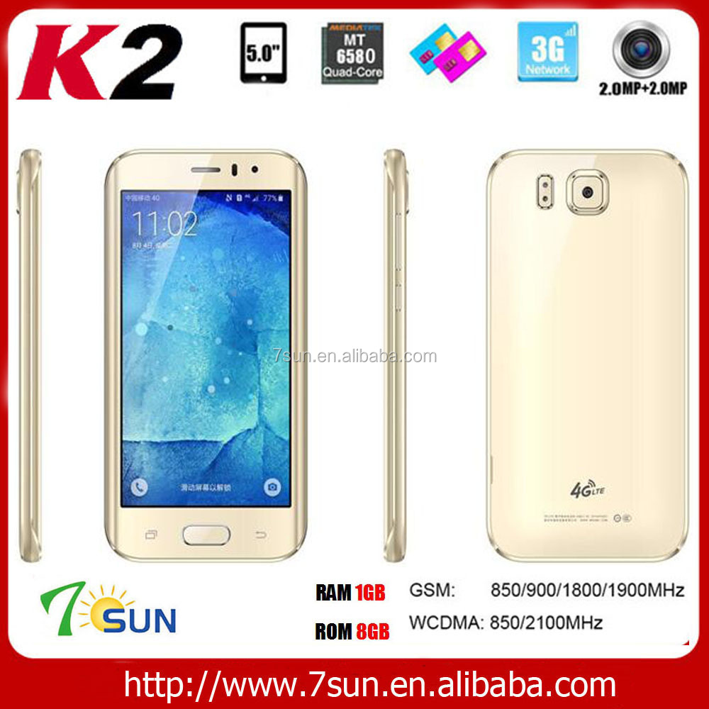 new product K2 smartphone oem 4g
