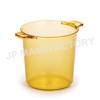 Large frosted plastic ice bucket/bar use wine ice bucket