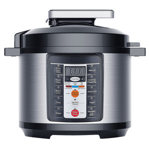 Perfect pressure cooker with cooking recipes time and power saving