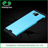 Wholesale cheap price colorful waterproof aluminium brushed metal bumper back case cover for samsung galaxy grand prime