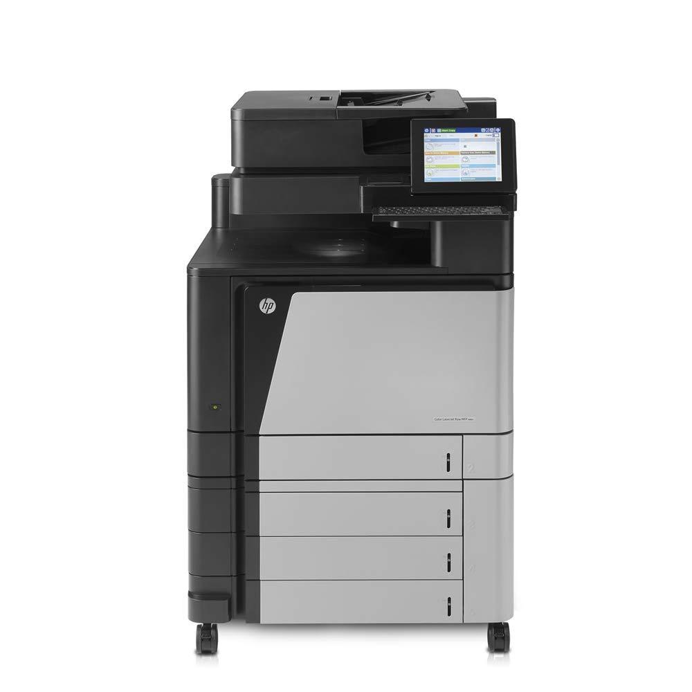 HP Color Laserjet Enterprise Flow M880 MFP Letter/Legal-Size Color Laser Multifunction Printer - 46ppm, Copy, Print, Scan, Auto Duplex, Network, 4 Trays