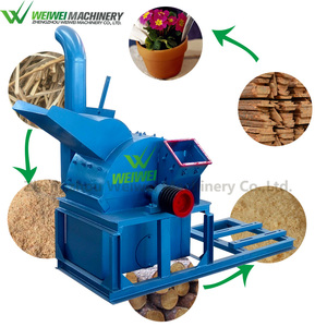 Weiwei sawdust fuel firewood wood grinder 1mm saw