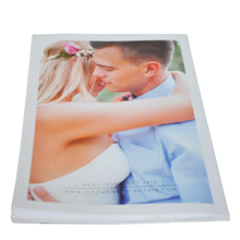 Cheap two-side offset paper magazine wedding dress magazine printing