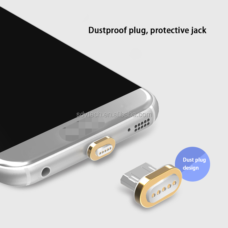 Top Sales 3 in 1 Magnetic USB Data Charging Cable With High Quality For iPhone For Android For Type C