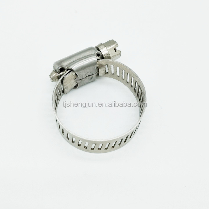 high quality Auto connector stainless steel exhaust pipe flexible hose clamp