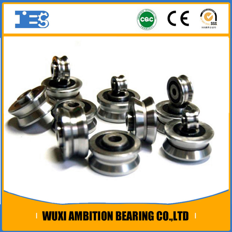 W3SSX 12mm v guide stainless steel Groove Radial Ball Bearings