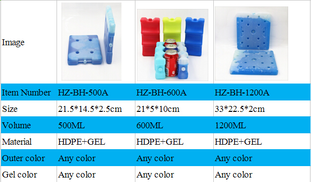 ice cream cooler box for bottle can storage and delivery made in China