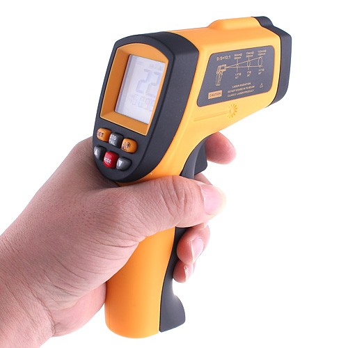 Non-Contact Laser IR Thermometer -50-900 Degree w/ Alarm Infrared Thermometer Infrared Thermometer Laser Temperature Instruments
