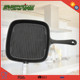 DIA24 Cast Iron Skillet Wooden Handle