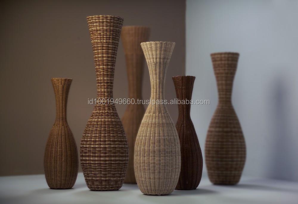 Rattan Vase - Buy Rattan Floor Vases,Rattan Flower Vase,Garden Furniture Rattan  Vase Chair Product on Alibaba.com