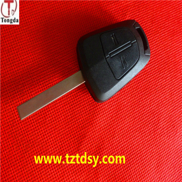 Tongda TD-OP035,New 2 Button Remote Flip Key Shell Case Vectra C Astra H Corsa D for Vauxhall / Opel