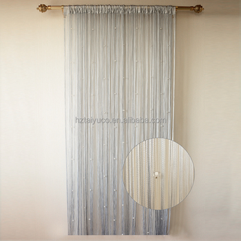 Solid French Style Shower Curtain Liner