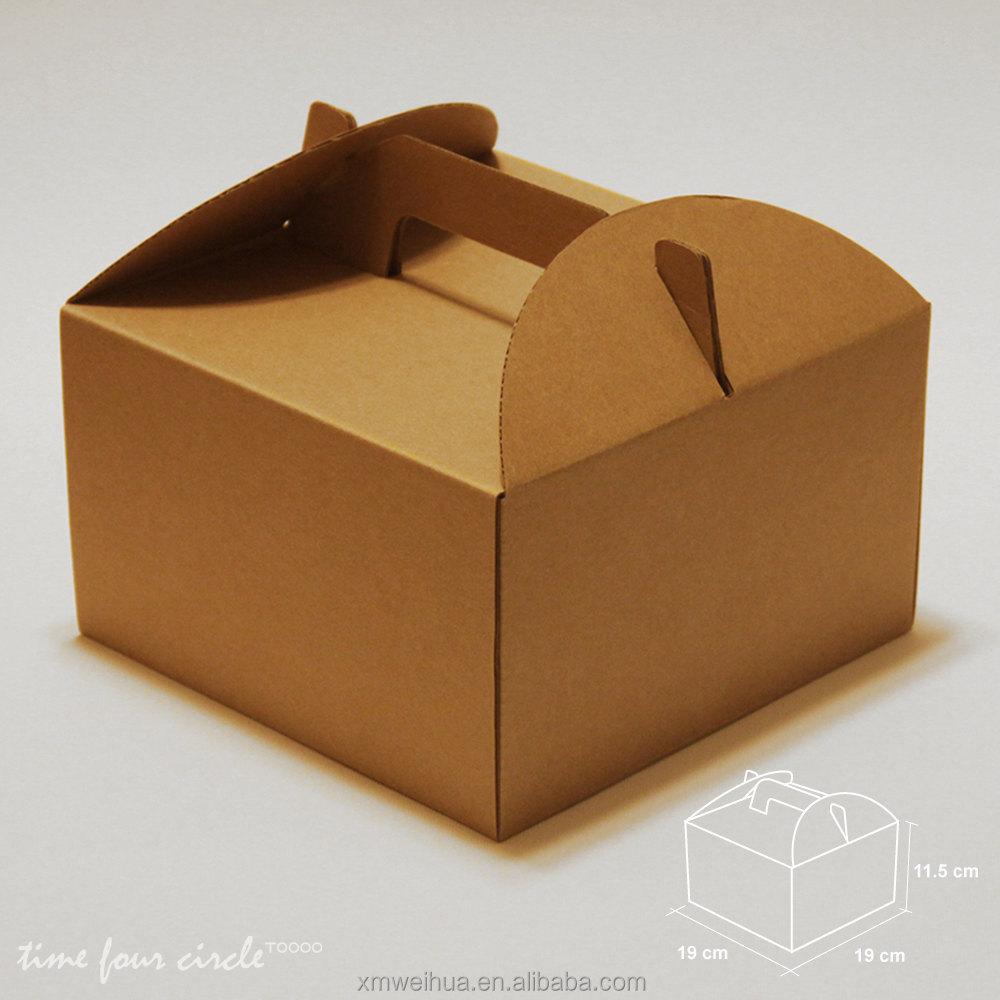 Brown Cake Boxes Singapore