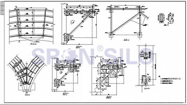 Example Of Poured Concrete Grain Elevator Aka Grain Silo – Fondos de