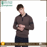 Quantity assured men turtleneck sweater with zipper