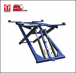 Tongrun Low Profile Portable Scissorss Car Lift Car Hoise 3ton Max lifting 1000mm QJY30-ZW