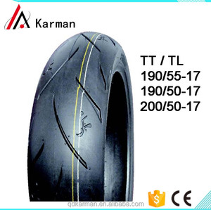 17 inch hot sale factory price motorcycle tires 190/50-17 190/55-17 200/50-17