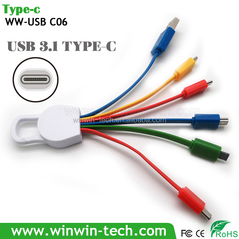 Hot selling USB 3.1 type C cable to 3.0 A Male cable usb cable headphone jack