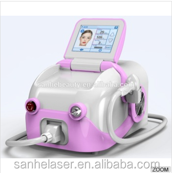 Portable diode laser hair removal machine / 808 laser diode 600w hair salon equipment
