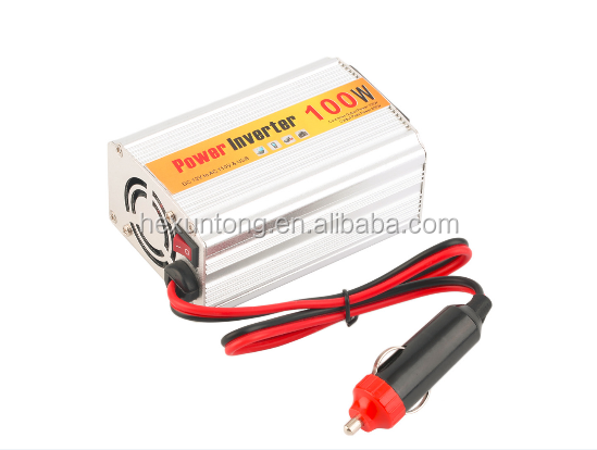 Wholesale 100W 12V <strong>DC</strong> to 110V AC Auto Car Power Inverter Adapter Supply Converter Charger for Laptop Computer