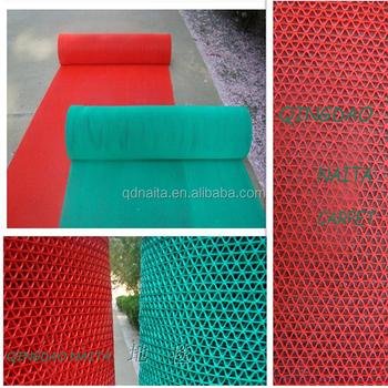 S Pvc Mat/pvc Perforated Mats/permeable Mats