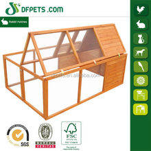 DFPets DFR023 Outdoor Wooden Chearp Rabbit Cage For Farming