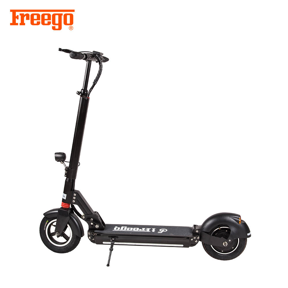 Adult 2 Wheel 10 Inch Foldable Electric Scooter 500W 800W 48V Electric Scooter with music and LED