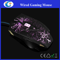 High Tech Computer Accessories Wired Optical Gamer Mouse