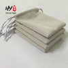 New design rectangle flap suede velvet jewelry pouch