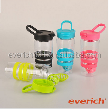 colorful milk home protein shake bottle