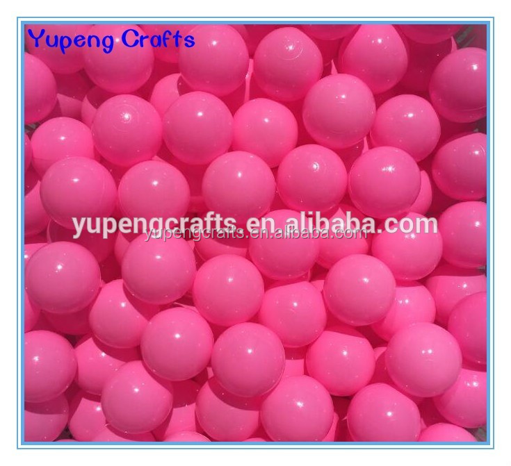 7cm Bulk Packing Plastic wholesale ball pit balls
