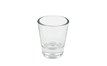 Leadsub Wholesale 1.5oz souvenir tequila shot glasses bullet whiskey shot glass cup with custom sublimation logo print