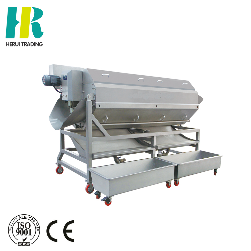 Automatic peeling and cleaning machine peeling and cutting potato