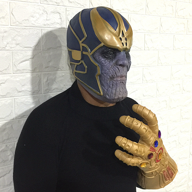 Avengers Infinity War Cosplay Costumes Thanos halloween mask