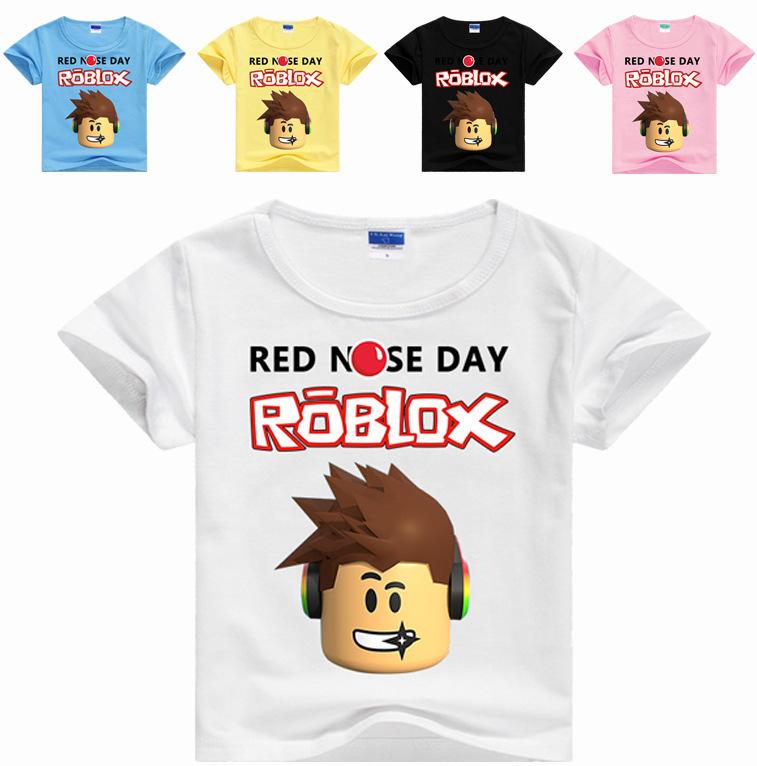 2020 Teenager Clothes T Shirt Summer Roblox Kids T Shirt Clothing