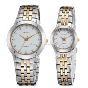 w4171 branded couple watches quartz movt
