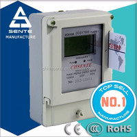 best price of DDS196 TYPE single phase electricity active watt-hour prepaid energy meter