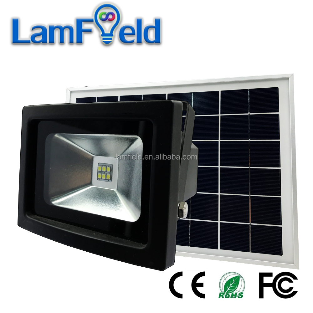 Hot sale 6W solar garden light with timer high lumen for security