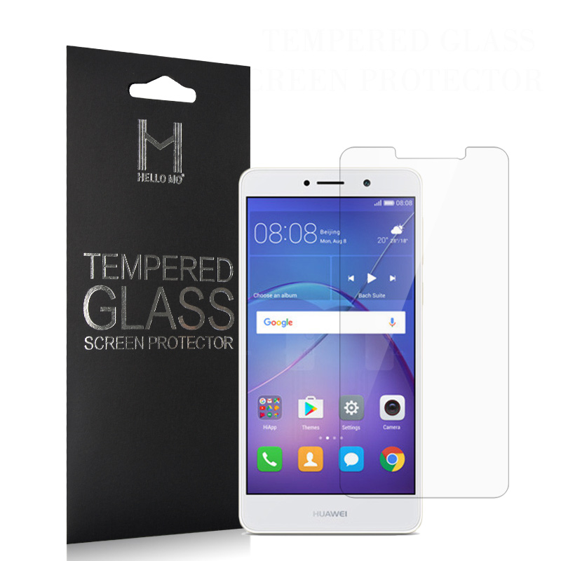 Top quality 0.33 mm 2.5 D 9H Asahi tempered glass screen protector for huawei mate 9 lite