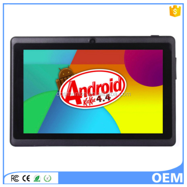 2017 Shenzhen Cheapest Android 4.4 7 inch <strong>Tablet</strong> from China Manufacturer
