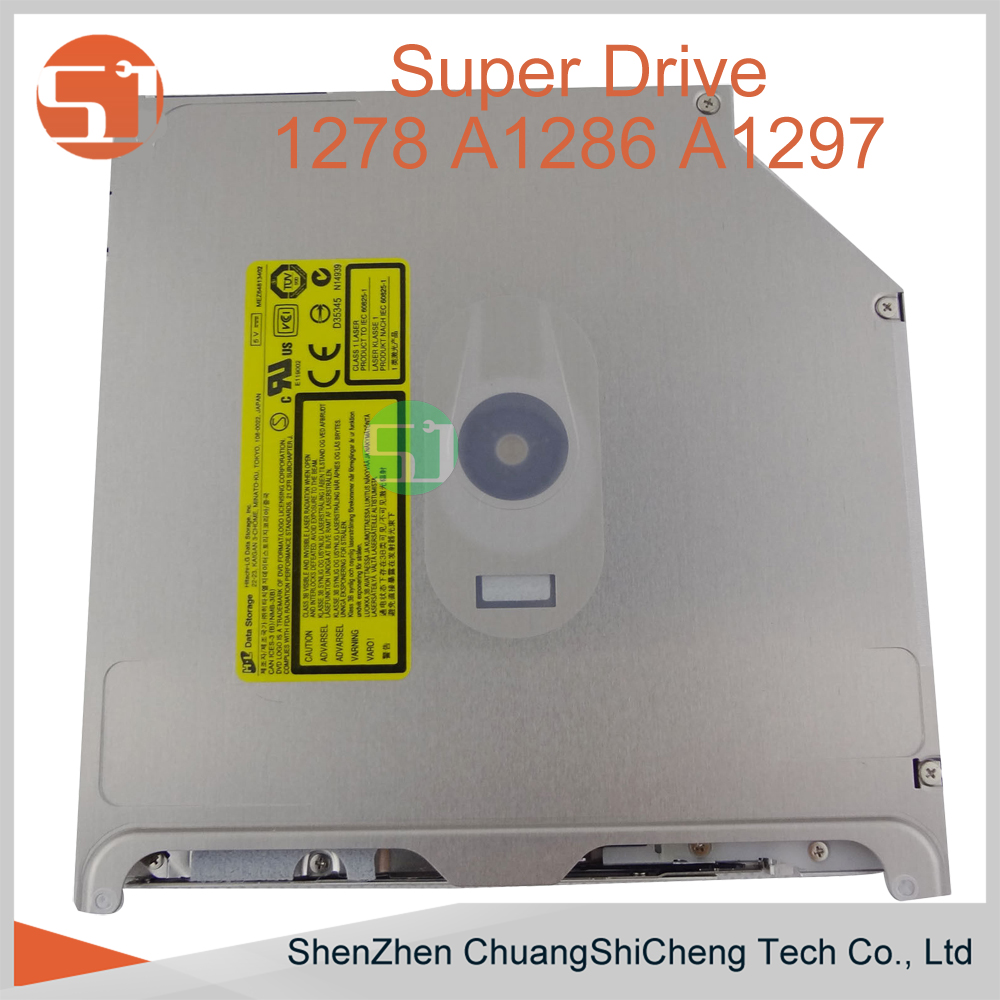 Original New GS41N GS31N DVD CD-ROM Burner Super Drive Superdrive 678-06198 for Apple Macbook pro A1278 A1286 A1297 A1342