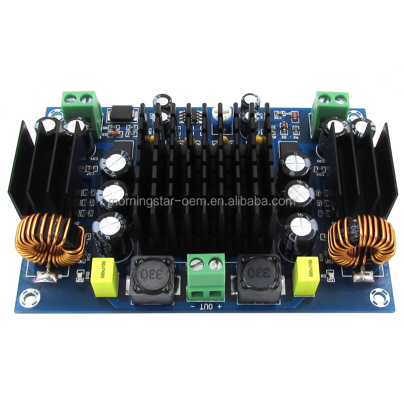 DC 12V 24V 150W Mono Channel TPA3116 TPA3116D2 Professional Car Amplifier board with Boost Power IC chips for Car home