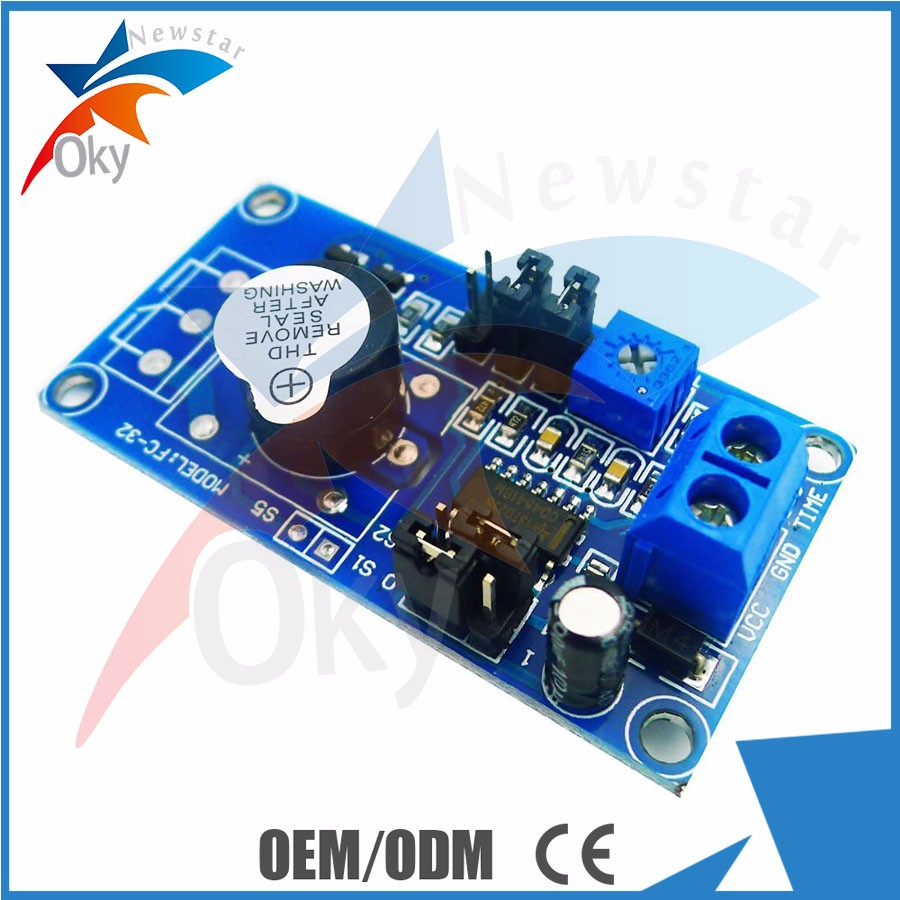 Time Delay Relay Alarm Sensor 12v H L Level Trigger Seal In Circuit Module