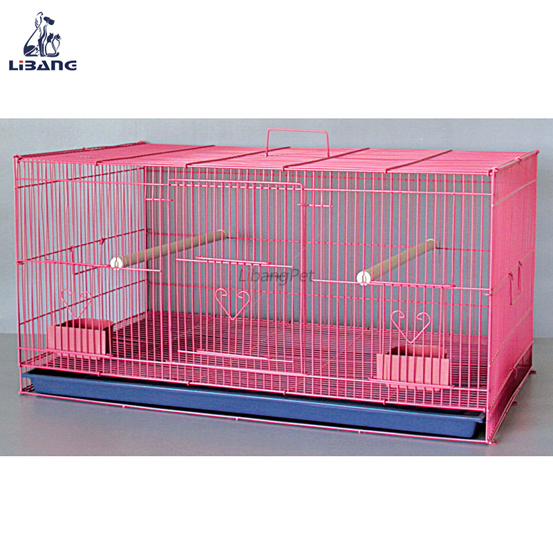 Pet Products Cage Wholesale Customized Folding Plexiglass Bird Breeding Cage