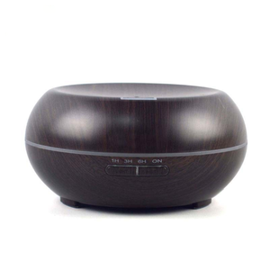300ml Essential Oil Diffuser Dark Wood Grain Aromatherapy Humidifier Eroope European Popular Product