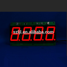 4 digit led display countdown timer 7 segment red 0.36inch LED display